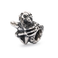 Merman of Wisdom Bead In Silver