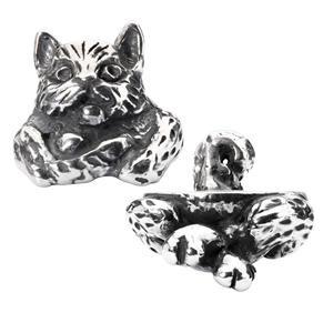Fantasy Cat Pendant Sterling silver Trollbeads