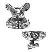 Fantasy Mouse Pendant Sterling Silver