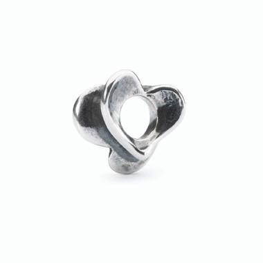 Budding Love Silver Bead