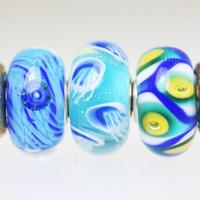Summer Trio Unique Beads
