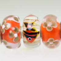 Fish Trio of Beads