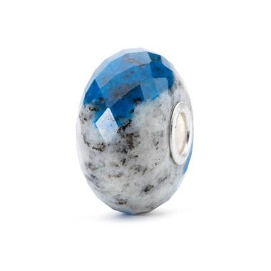 Feldspar Azurite Rock Bead