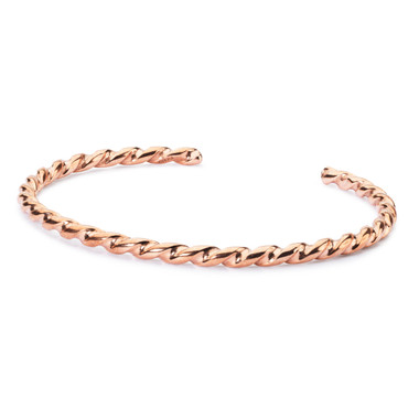 Copper Twisted Bangle