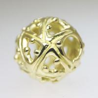 Infinity Gold Bead