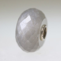 Grey Moonstone Bead With A Twist