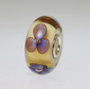 Amber Violets Bead With A Twist