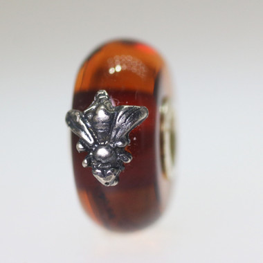 Wings of Amber Bead