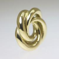 Gold Infinity Bead