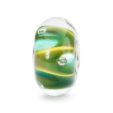 Drops of Green Bead