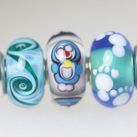 Unique Trollbeads Trio of Beads