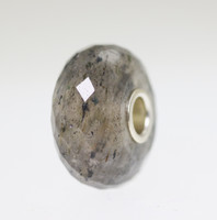 Natural Grey Quartz, 2021 Father's Day Bead With A Twist: 6