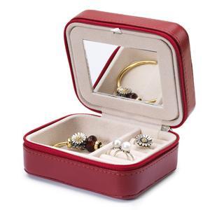 Burgundy Jewelry Box