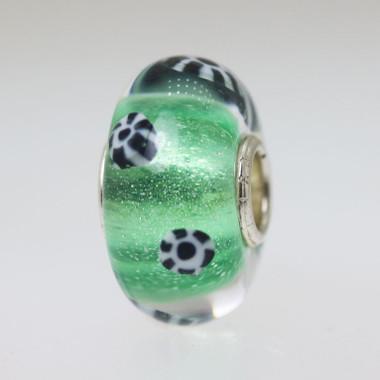 Green Unique Bead