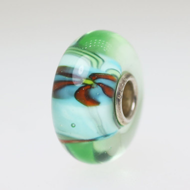 Light Aqua Anemone Bead