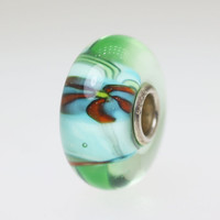 Light Aqua Anemone Bead