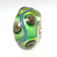 Unique Green Trollbead