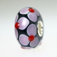 Purple Flowers Bead