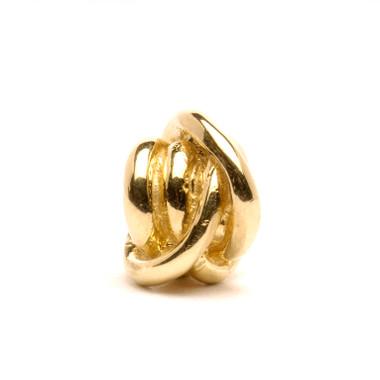 Lucky Knot Bead, Gold Trollbeads