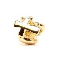 Faith, Hope & Charity Bead, Gold Trollbeads