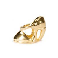 High Heel, Gold Trollbeads