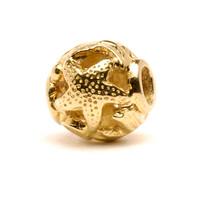 Ocean Bead gold Trollbeads