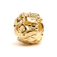 Wine Harvest Bead, Gold Trollbeads