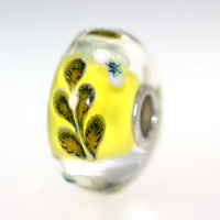 Yellow Vine Bead