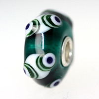 Dark Aqua Translucent Bead