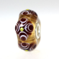 Amber Bead With Brown