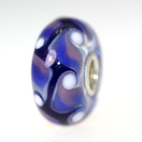 Blue and Purple Bead