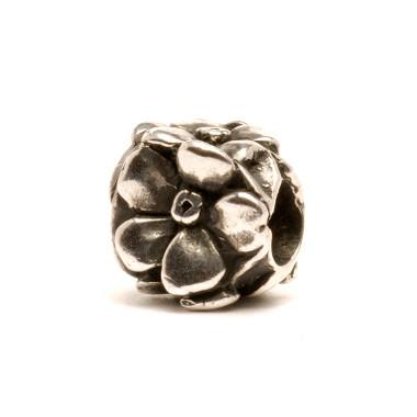 Rose Trollbeads in sterling silver