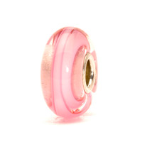 Rose Ribbon Glass Trollbeads