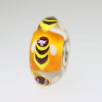Orange Bee Bead