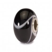 Black Armadillo Glass Trollbeads