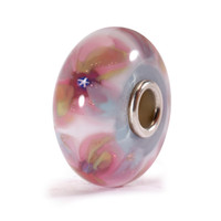 Fantasy Flower glass Trollbeads