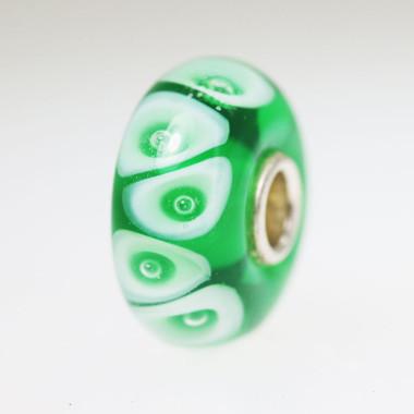 Rich Green Bubble Bead