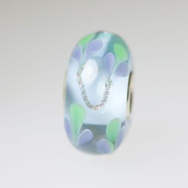 Light Blue Flower bead