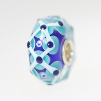 Blue & Aqua Unique Bead