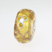 Light Amber Glass Bead