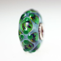 Green and Blue Unique Bead