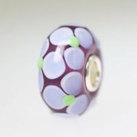 Lavender Flower Bead