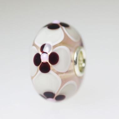 Grey & Brown Unique Bead
