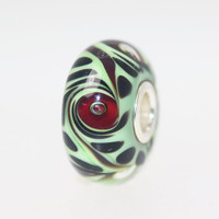 Green and Red Unique Bead