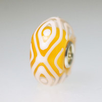 Orange Unique Bead