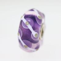 Purple & Glitter Unique Bead
