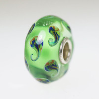 Green Bead With Designs