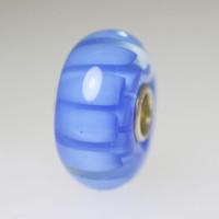 Blue Petals Unique Bead