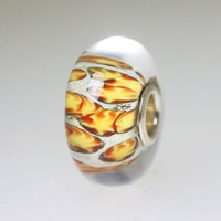 Abstract Orange Bead