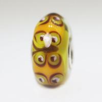 Golden Yellow Butterfly Bead